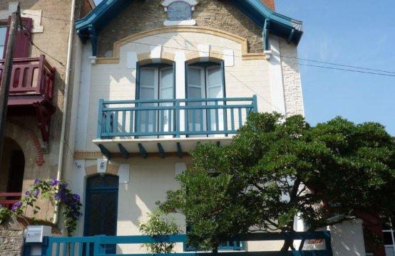 Biarritz Centre Ville Maison 4/6 Pers A28LEGA