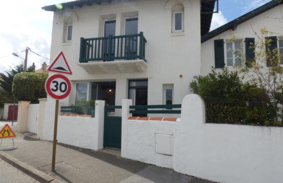 Biarritz Plage Milady Maison de ville 4/6 pers U123BEL